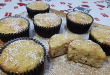 Muffin Mele e Cannella