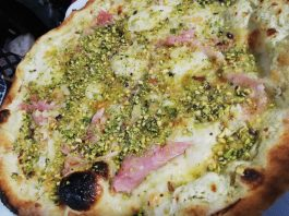 Pizza al Pistacchio