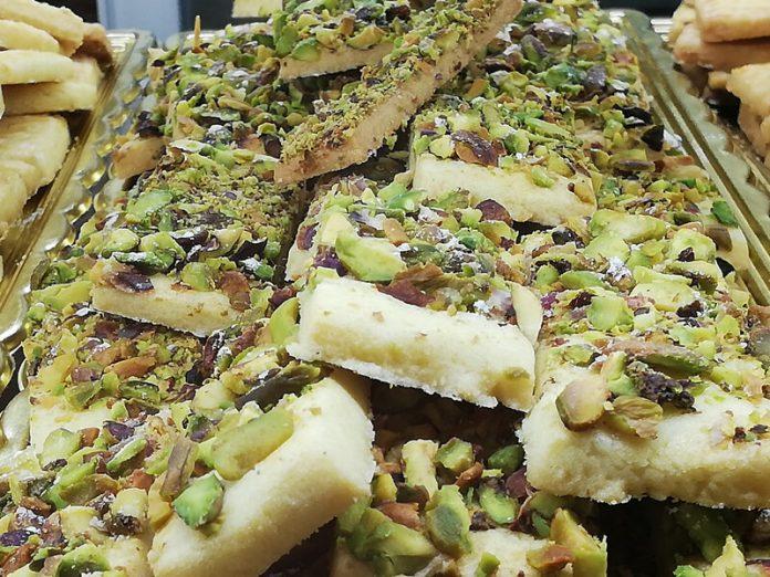 Biscotti con Granella di Pistacchio