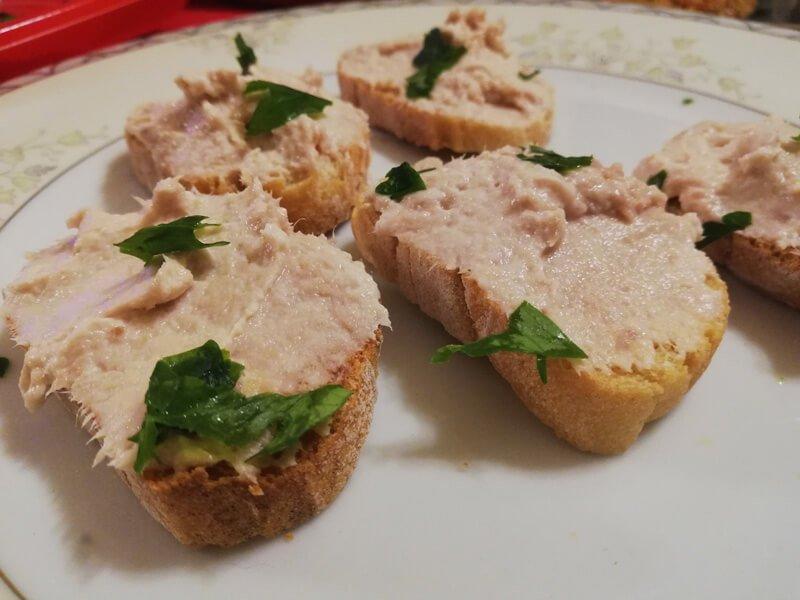 Ricetta Crostini con Tonno e Mascarpone