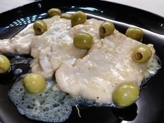 Scaloppine con Olive