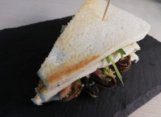 Club Sandwich al Polpo
