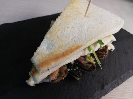 Club Sandwich al Polpo
