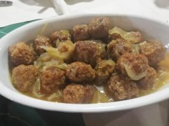 Polpette in Agrodolce Bimby