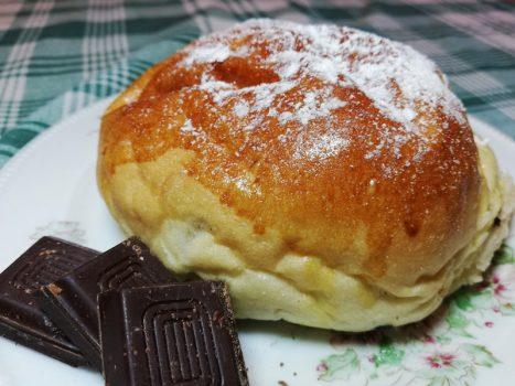 Maritozzo Siciliano al Cioccolato