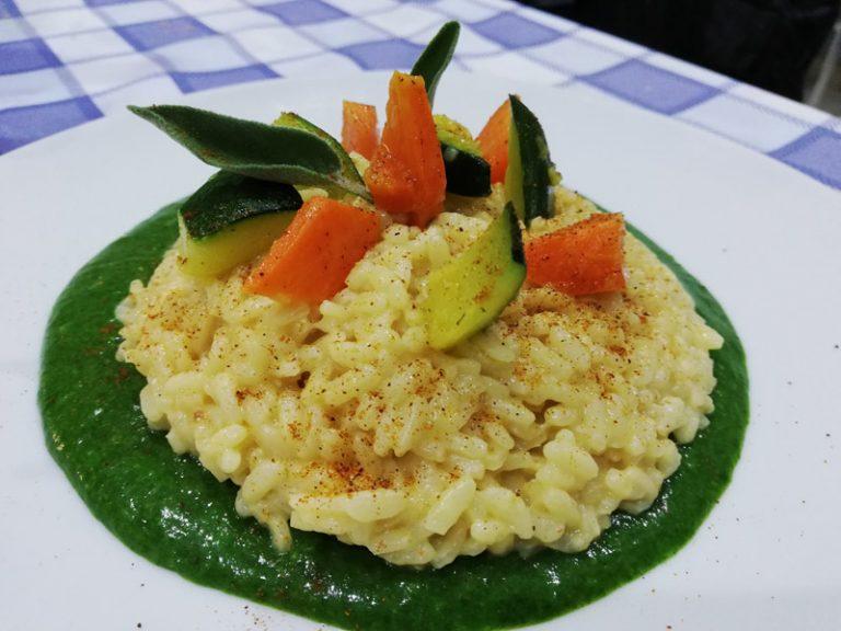 Risotto con Verdure e Formaggio