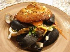 Brioche Salata con Pesce