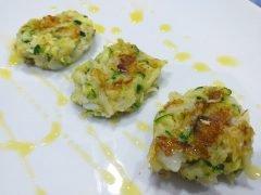 Polpette di Baccalà e Zucchine