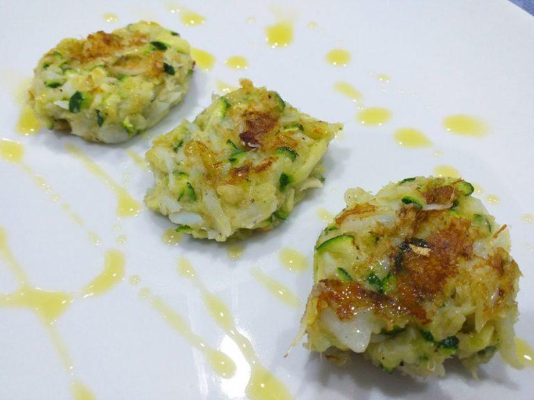 Polpette di Baccala e Zucchine