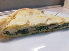 Torta Salata Ricotta Spinaci e Prosciutto