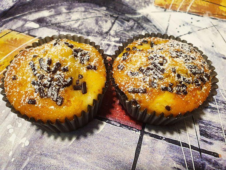Muffin con Gocce di Cioccolato Bimby
