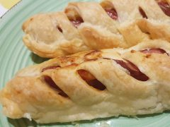 Pasta Sfoglia con Wurstel Bimby