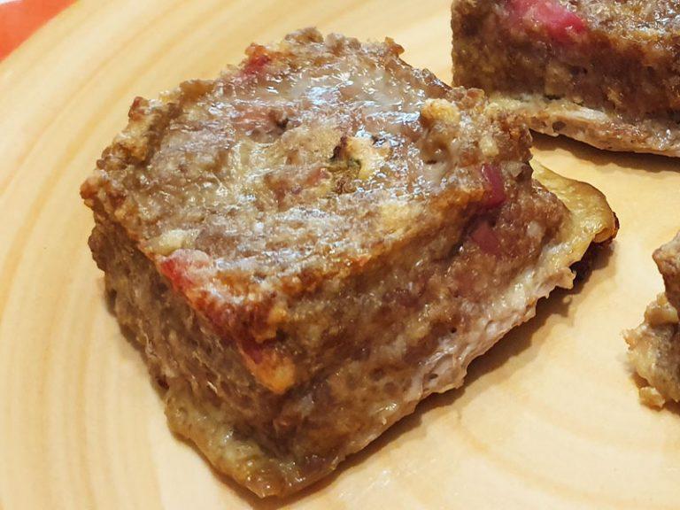 Tortino di Carne con Funghi e Speck