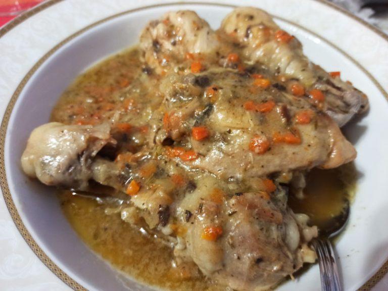 Pollo Morbido in Padella