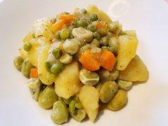 Zuppa di Fave e Piselli