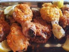 Cosce di Pollo con Corn Flakes