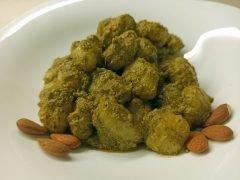 Gnocchi con Pesto di Basilico e Mandorle