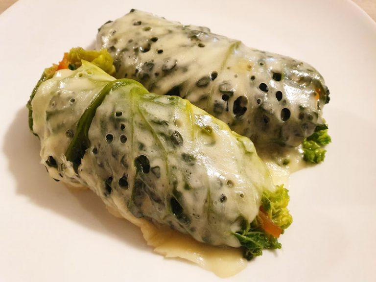 Involtini di Verza con Quinoa