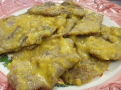 Scaloppine all'Arancia