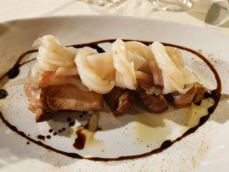 Filetto di maiale con lardo