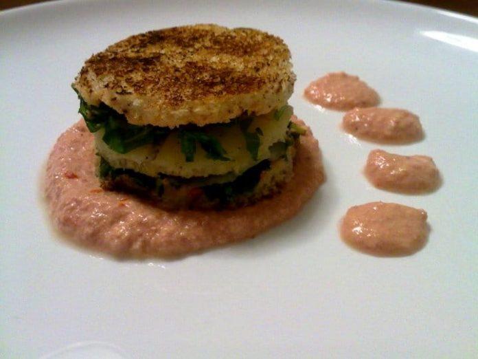 Sandwich caldo con rucola e provola affumicata e pepe nero - Inviata da Matteo Ghigino